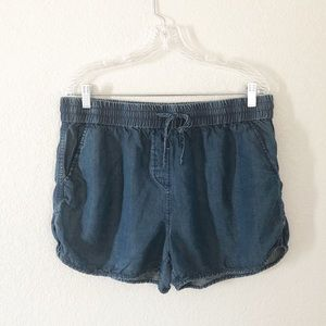 Cremieux relaxed fit drawstring shorts sz L